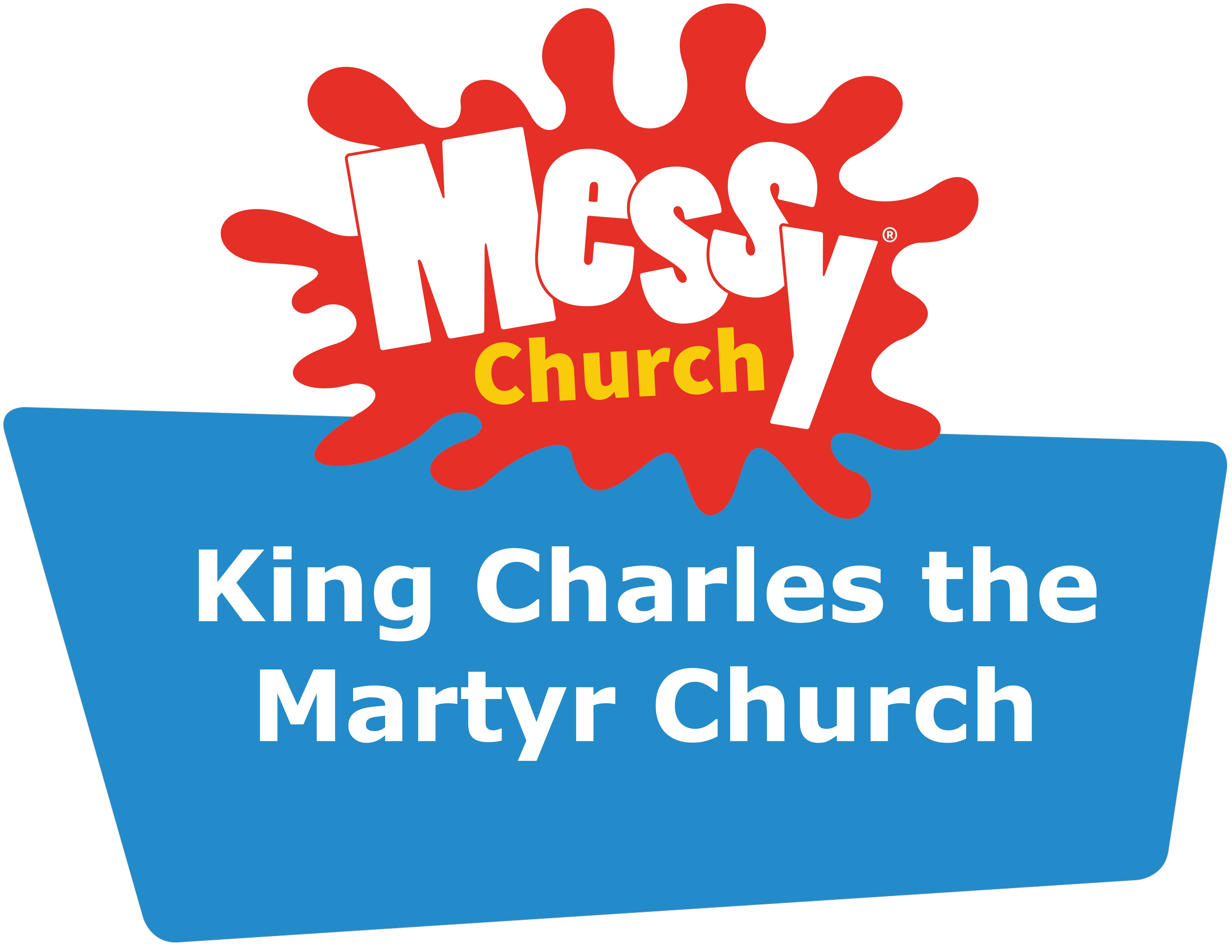 KCM Messy Church Logo