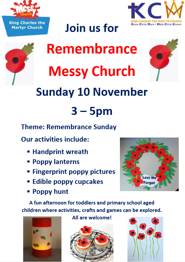 Nov messy church poster